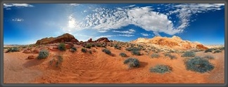 Panorama,360°,USA,Amerika,Landschaft,Las Vegas,Rainbow Vista,Valley of Fire,Nevada,America,Panoramic,Michael Rucker